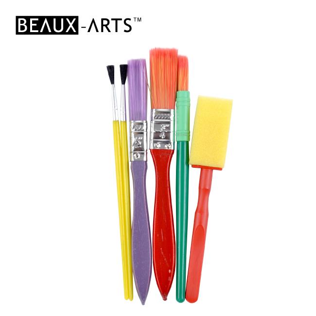 6pcs Hobby Brush Set for Kids Painting