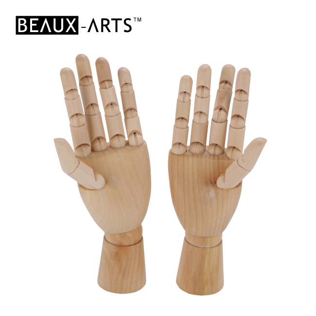 8 Inch Children Wooden Hand