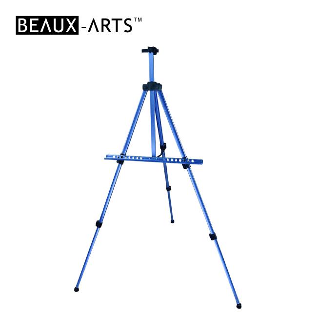 Blue Portable Aluminum Artist Studio Easel