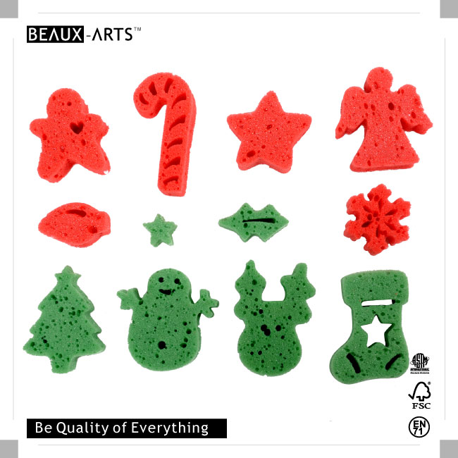 Foam Stamp of Christmas Set