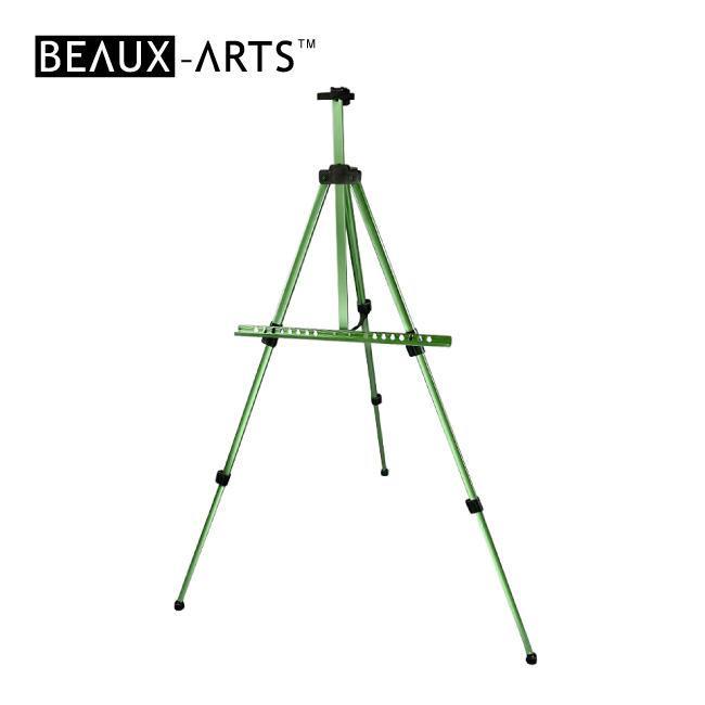 Green Portable Aluminum Artist Studio Easel