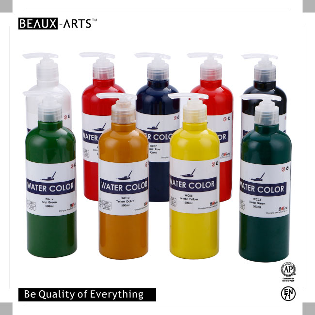 Non-toxic High Quality Bottled Watercolor Paint