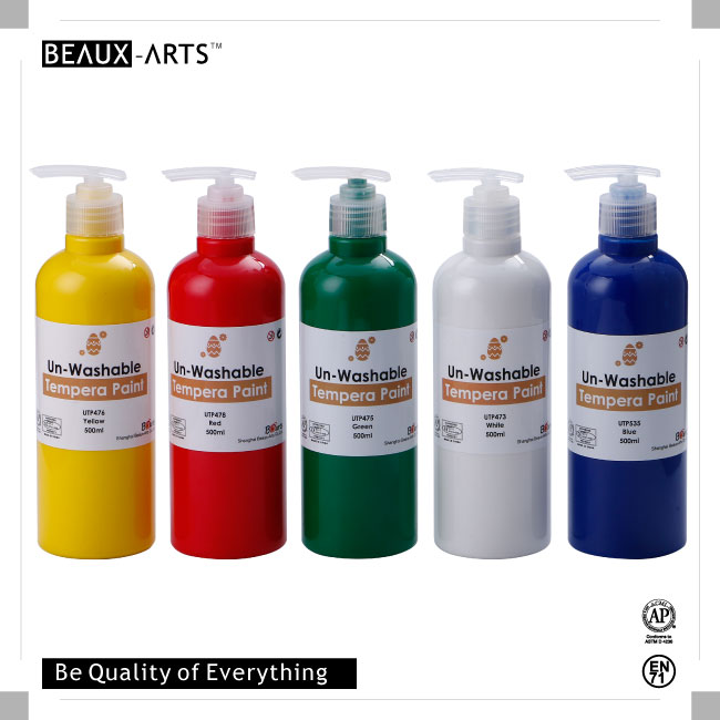 Non-toxic High Quality Un-washable Tempera Paint