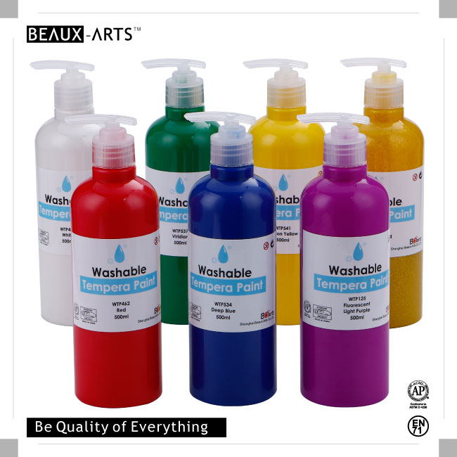 Non-toxic High Quality Washable Tempera Paint