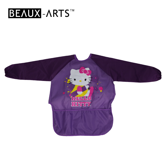 210T Polyester Smock Ordinary Waterproof Long-sleeved Kids and Graft Apron