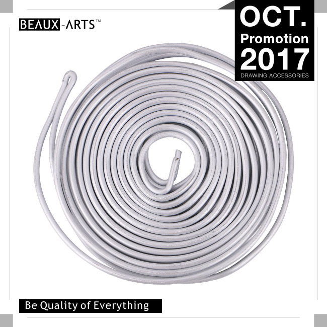 Premium Sculpting and Armature Wire with 0.21 inch (0.3 cm) Thickness