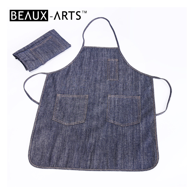 Sleeveless Jean Smock Kids and Graft Artist Painting Apron