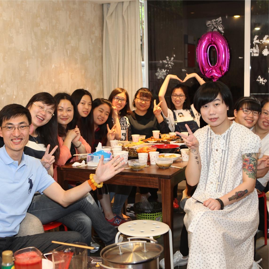 Shanghai Beaux Arts company party