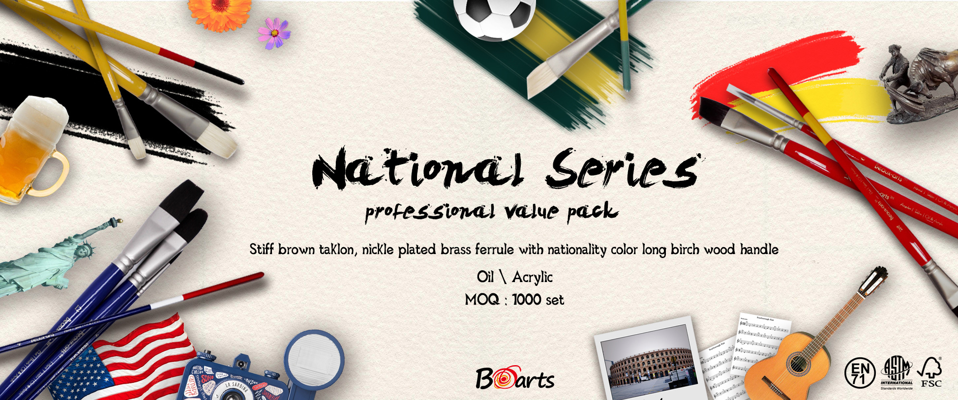 Promotion of May: New product of June-National Series