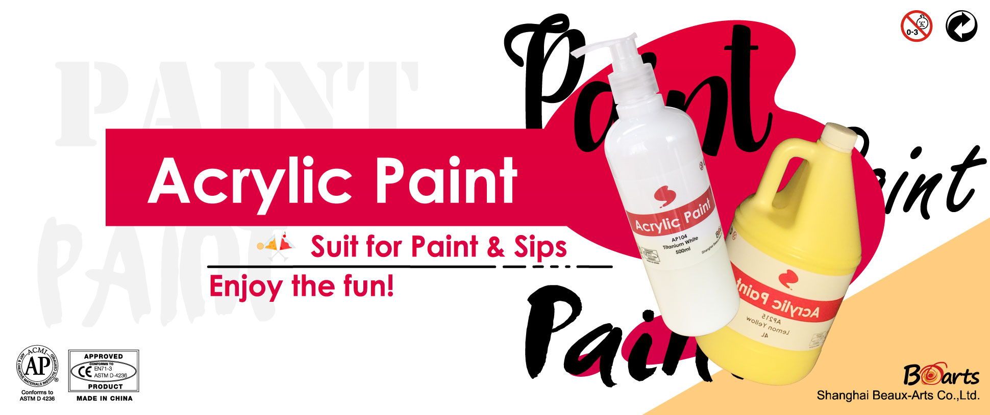 Promotion of May: Acrylic Paint, Art Life
