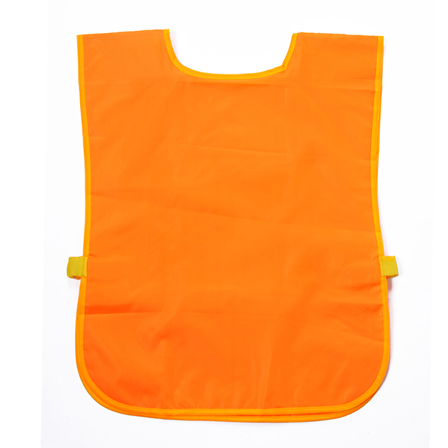 Sleeveless Waterproof Polyester Apron with Bright Color
