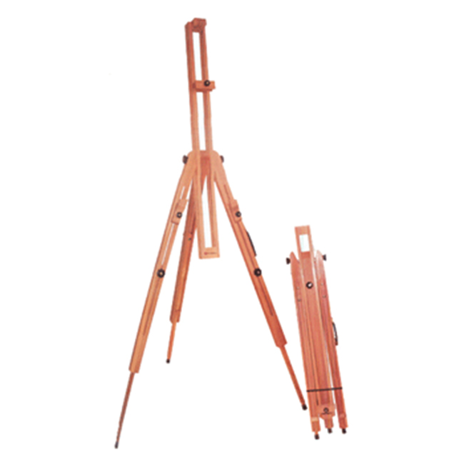 Tripod Beech Portable Easel for Artist