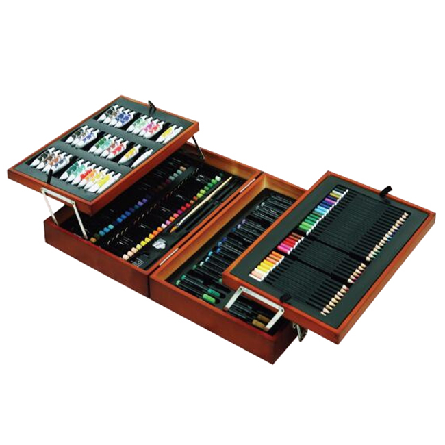 Artist Work 181pcs Painting Set in Wooden Box