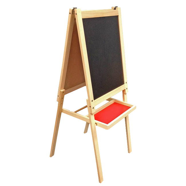 Pine Wood Kids Easel with Magnetic Board