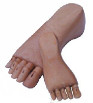 Feet Manikins with Wooden Material