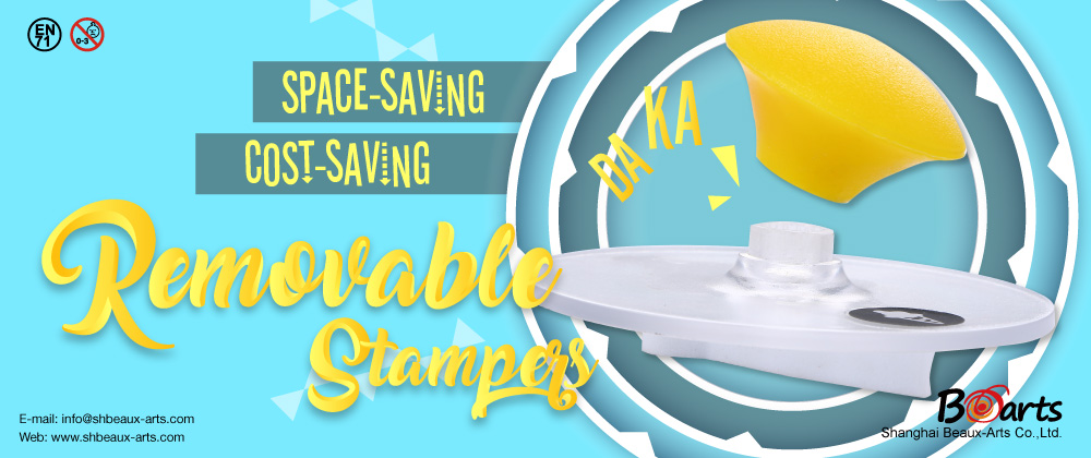 Promotion of July: Space-Saving Cost Saving Removable Stampers