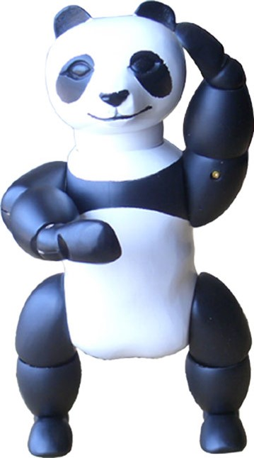 Wooden Panda Manikin Are a Perfect Gift for Both Children and Adults