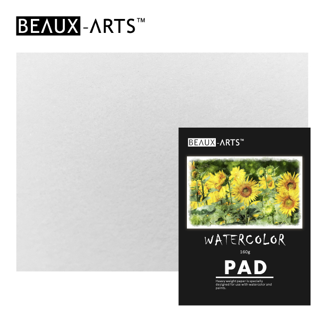 180g Cotton Watercolor Paper Pad for Artist Painting