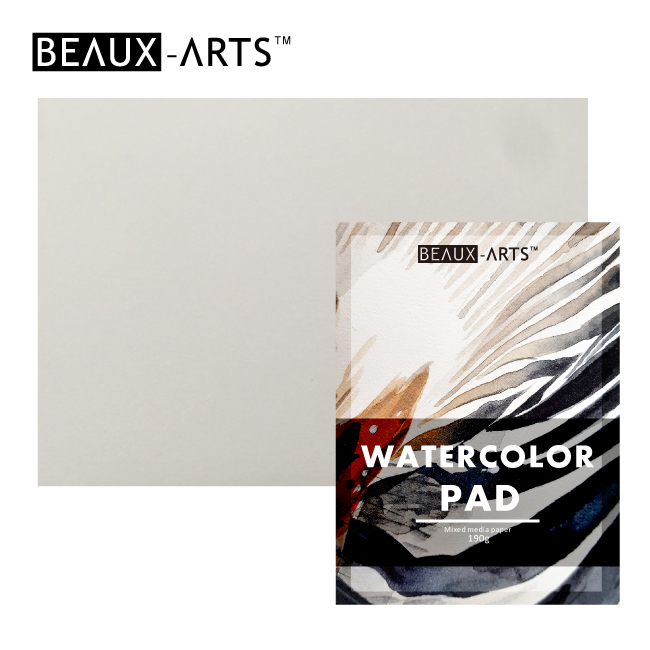 190g White Cotton CP Texture Watercolor Paper Pad for Artist Painting
