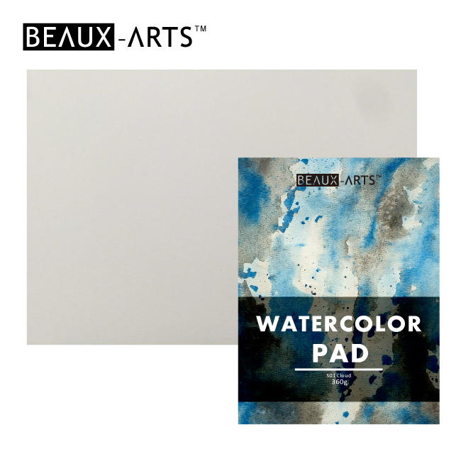 360g 100% Cotton White Texture Watercolor Paper Pad for Artist Painting