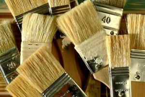 Flat Brushes and Hake Brushes